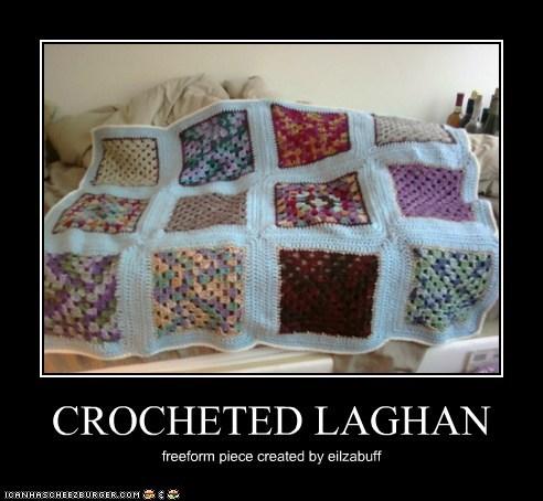 CROCHETED LAGHAN