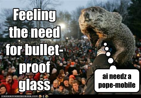 Feeling the need for bullet-proof glass