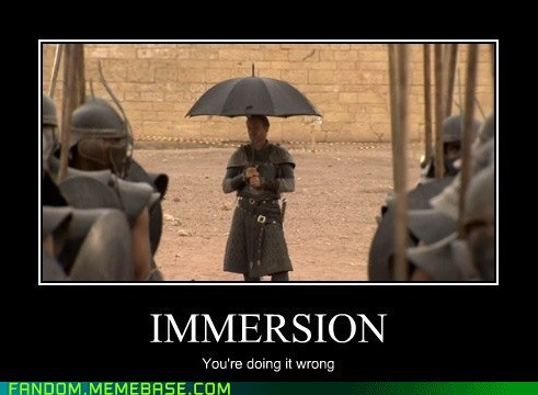 Game of Umbrellas