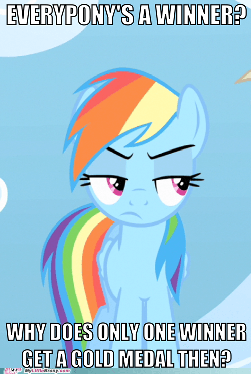 competition,gold medal,rainbow dash