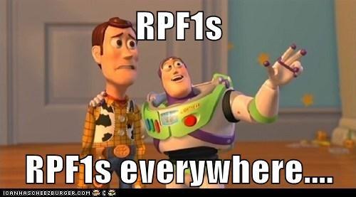 RPF1s  RPF1s everywhere....