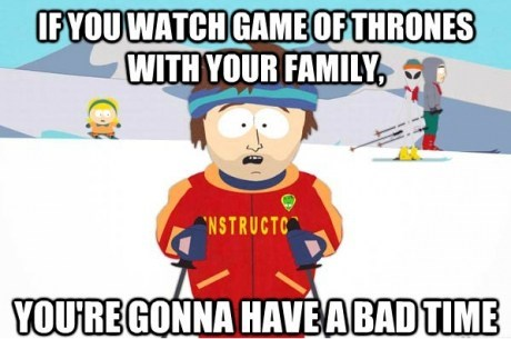 hbo,Game of Thrones,families,South Park