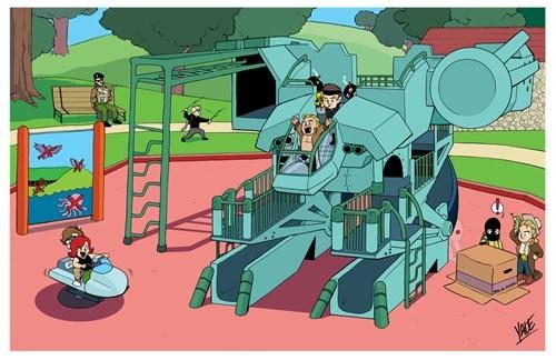 Metal Gear Playground