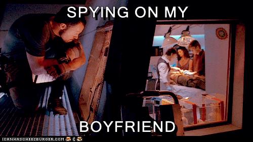 SPYING ON MY  BOYFRIEND