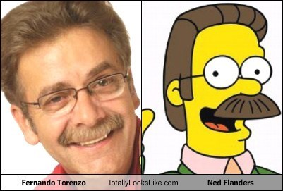 Fernando Torenzo Totally Looks Like Ned Flanders