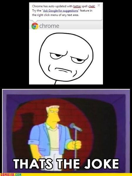 jokes,simpsons,chrome,google