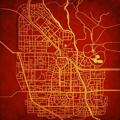 City Prints Maps Out Your Favorite Video Game Locations