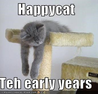 Happycat:  The Early Years