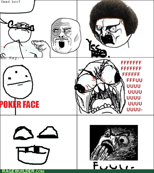 2 men 7 Faces=LOL