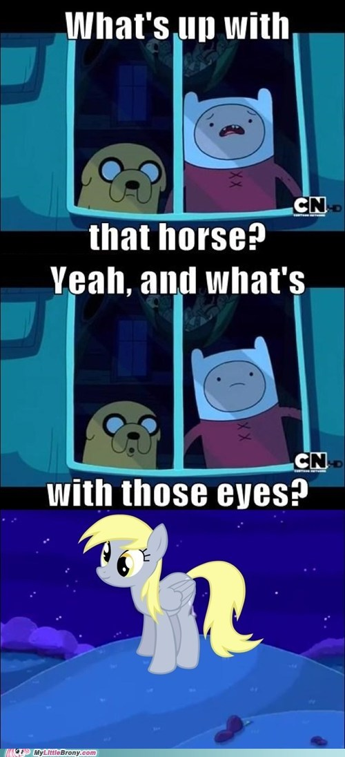adventure time,comics,derpy hooves