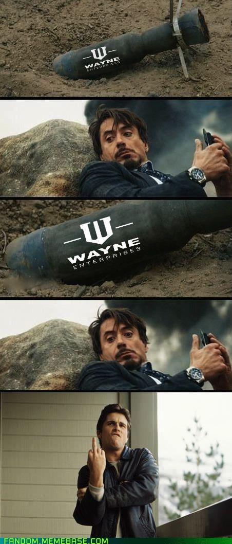 F**k you, Stark!