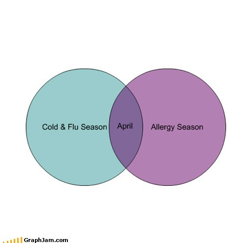allergies,flu,cold,april