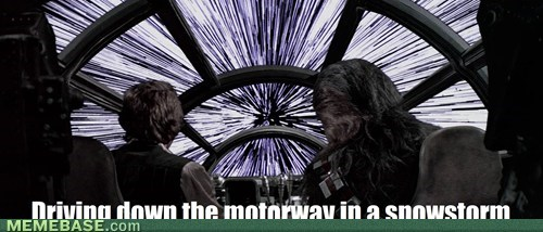 put this baby into hyperdrive..