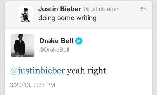 justin bieber,Music,twitter,drake bell