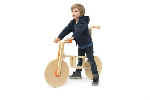 Life Hack of the Day: Turn an IKEA Stool into a Kid's Bike