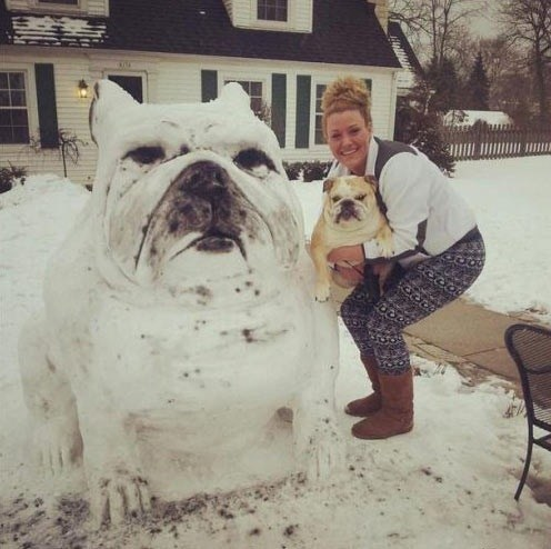 Nailed It,snow man