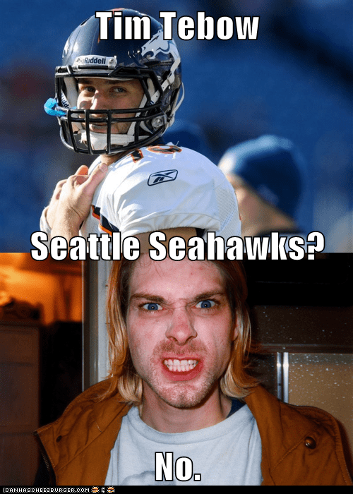 Tim Tebow Seattle Seahawks? No.
