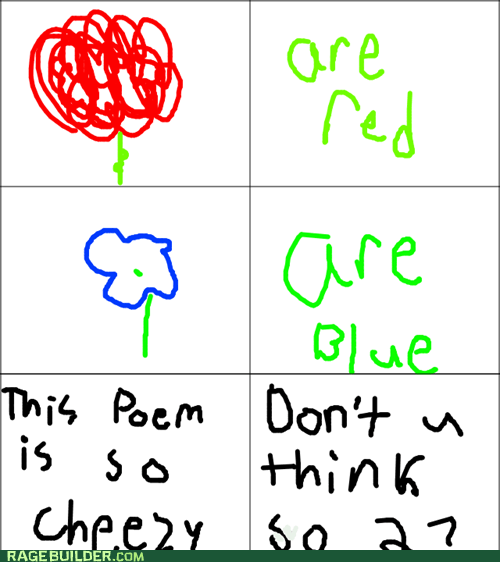 why do poems even start like that?