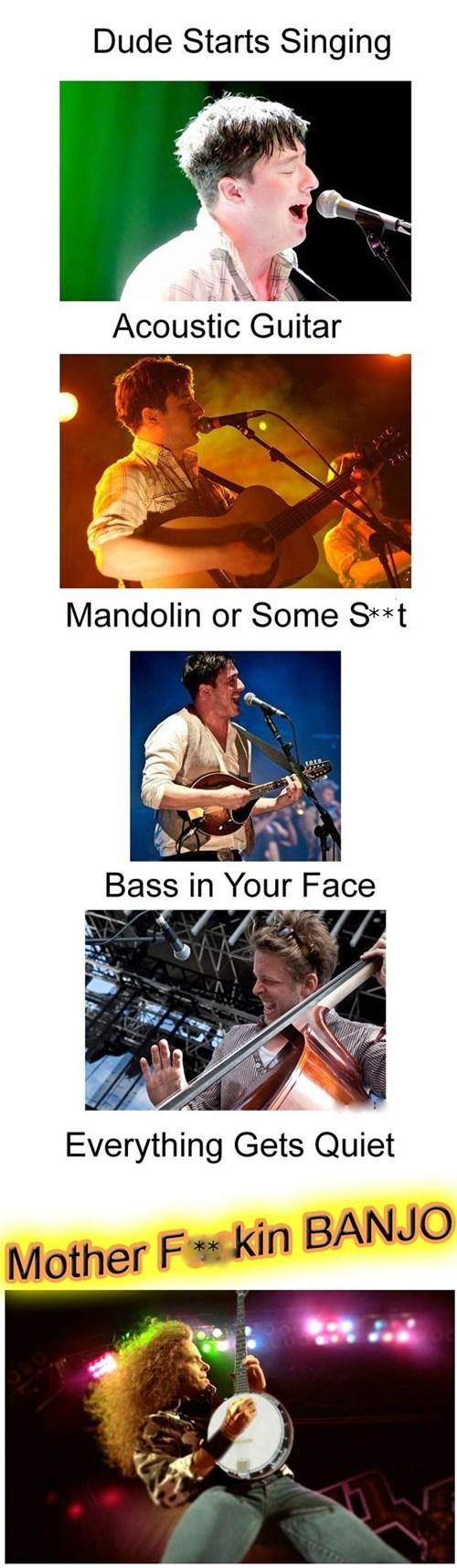 banjo,mumford and sons,formulas,Music FAILS