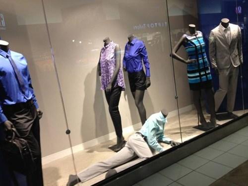 crawling,creepy,Mannequins
