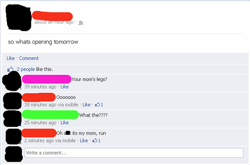 Mom Jokes on Facebook Are Inadvisable in This Day and Age