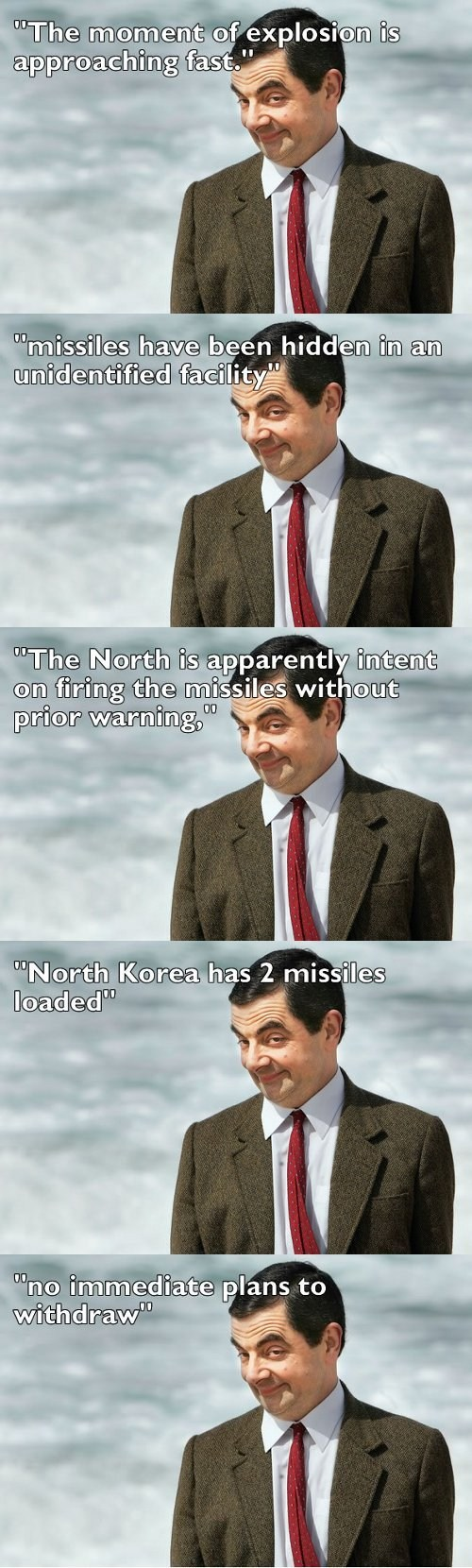 Mr. Bean Turns the NK Crisis Dirty
