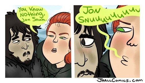 j-hall-comics,Jon Snow,Game of Thrones,comics