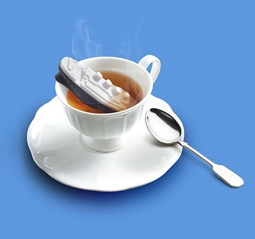 titanic,tea,tea infuser