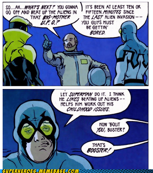 The Blue Beetle Don't Care