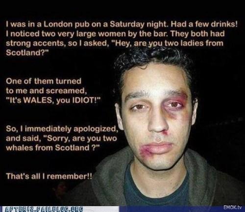 Don't do this at a bar!