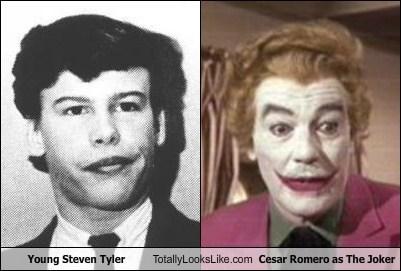 Young Steven Tyler Totally Looks Like Cesar Romero as The Joker