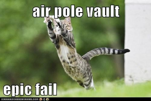 air pole vault  epic fail