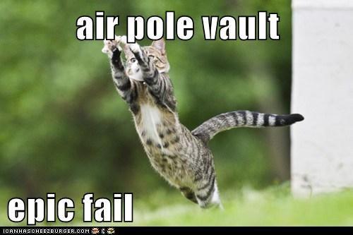 air pole vault  epic fail