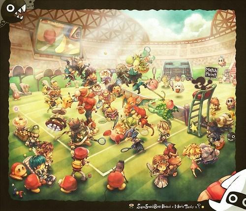 Super Smash Tennis Bros.