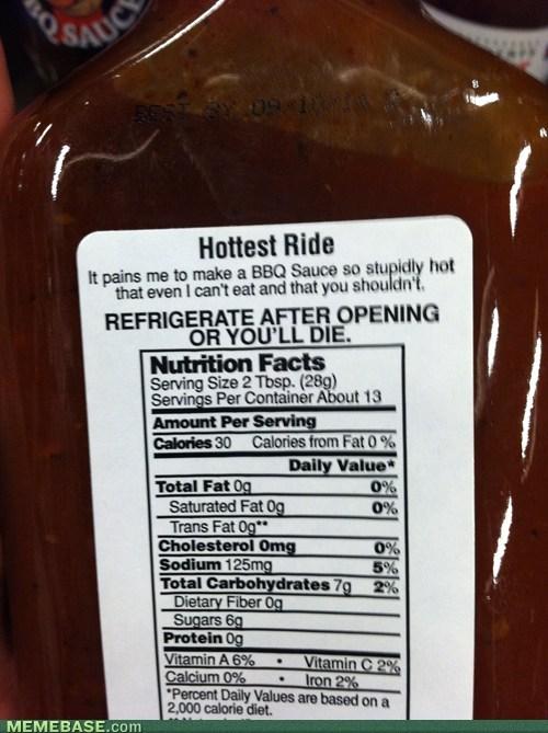 wtf,IRL,hot sauce,bbq sauce