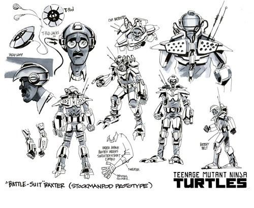 Dexter Blockhead - TMNT Concept Art