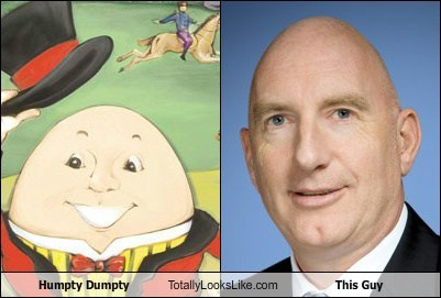 Humpty Dumpty Totally Looks Like This Guy