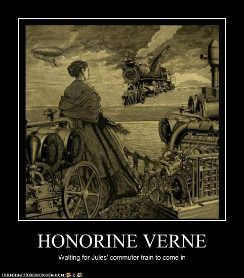 Jules Verne Was So Steampunk