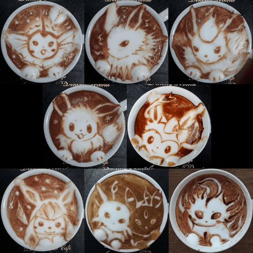 Delicious Eeveelutions