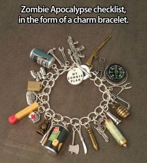 zombie,charm bracelet