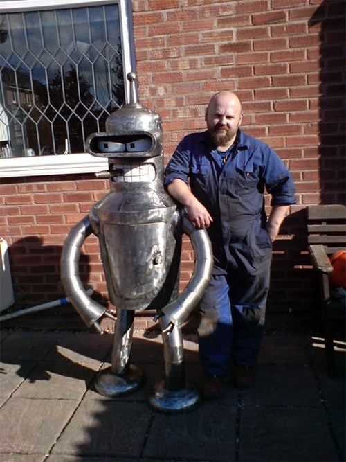 This Bender Furnace Wants You to Bite His Shiny Metal... You Know