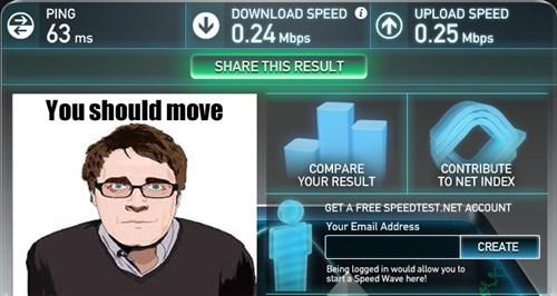 speed test,adam orth,always online,internet connection