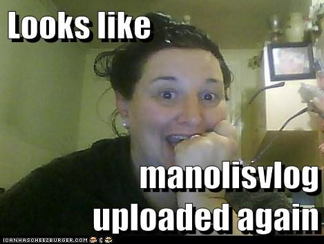 Looks like  manolisvlog uploaded again