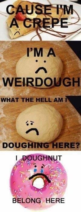 crepes,doughnut,dough