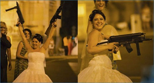 Shoot First, Say Marriage Vows Later