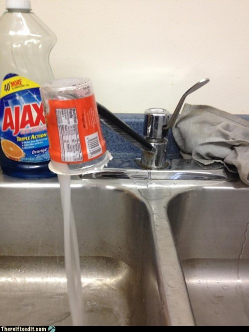 faucets,cups,sinks,g rated,there I fixed it