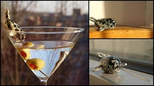 sloshed swag,martini,narwal