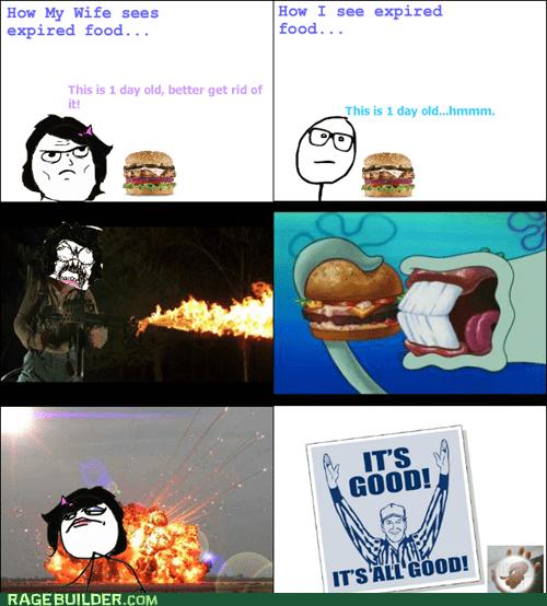 expired food,kitchen,food