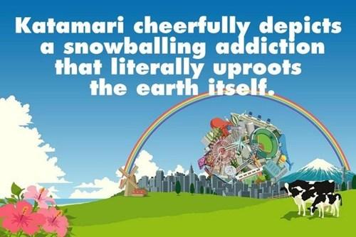 consumerism,the earth,katamari