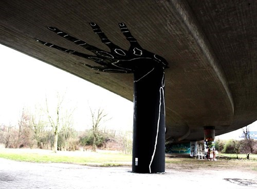 A Supporting Hand in Karlsruhe, Germany